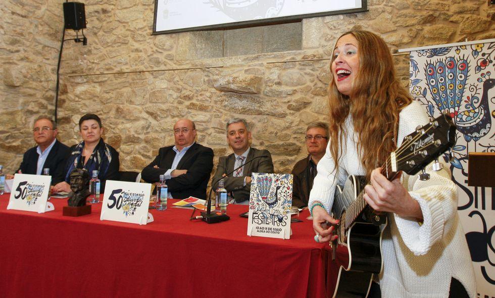 A música xa estivo presente onte na presentación do programa das Festiletras.