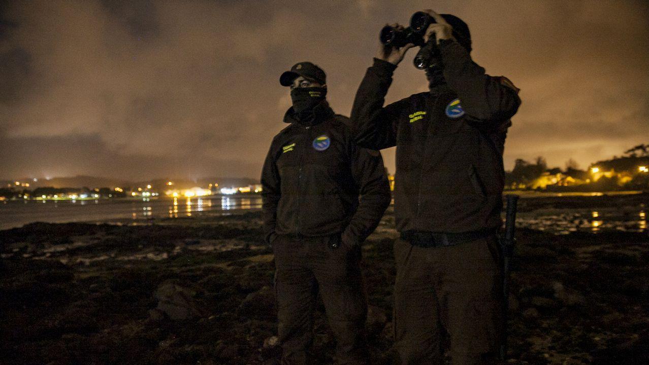 En directo con los guardas rurales de la cofradía de Cabo de Cruz