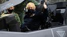 Boris Johnson, durante una visita al portaaviones Queen Elizabeth el pasado mes