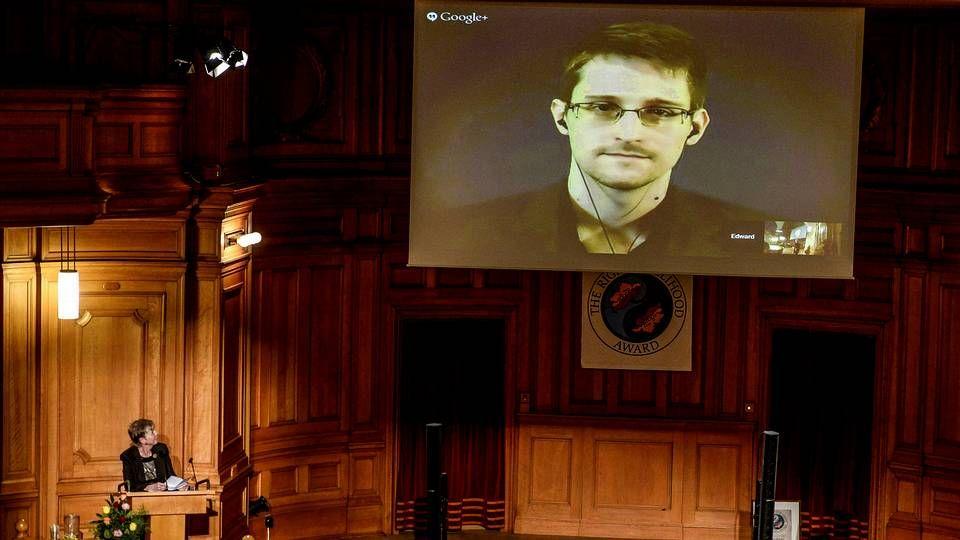 Snowden por videoconferencia