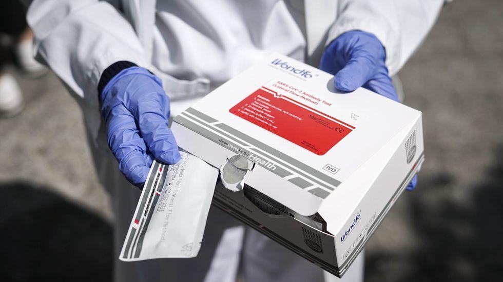 Mas de 14.500 personas se han hecho el test del coronavirus en Ourense