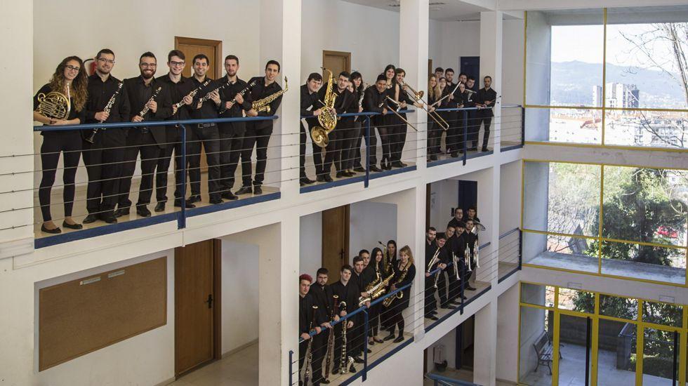 Banda de música del Conservatorio Superior de Música de Vigo