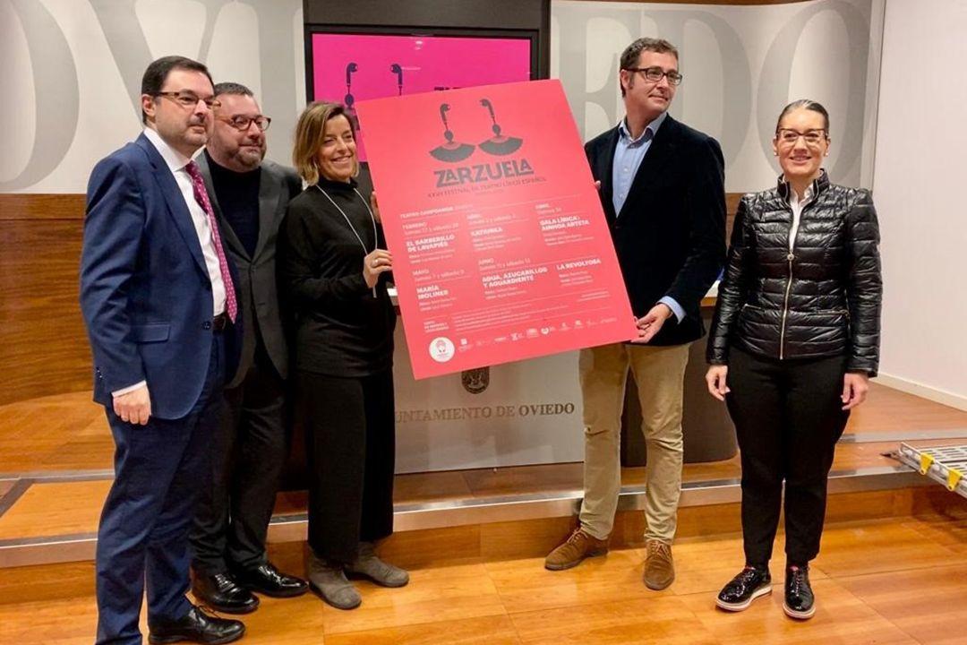 desempleo abril.Presentación del XXVII Festival de Teatro Lírico Español.
