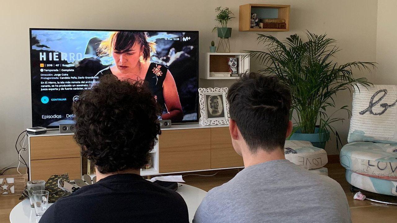 El consumo televisivo se ha disparado en todo el país estos días