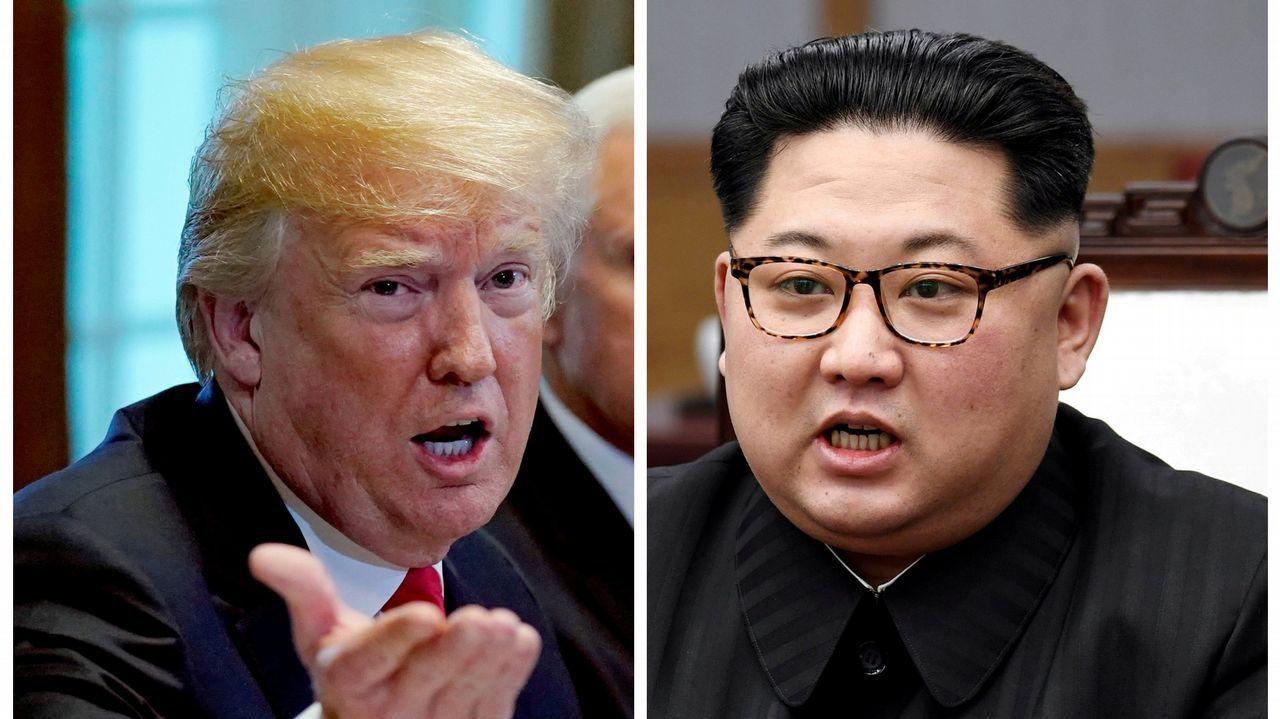 Donald Trump y Kim Jong-Un ya están en Singapur