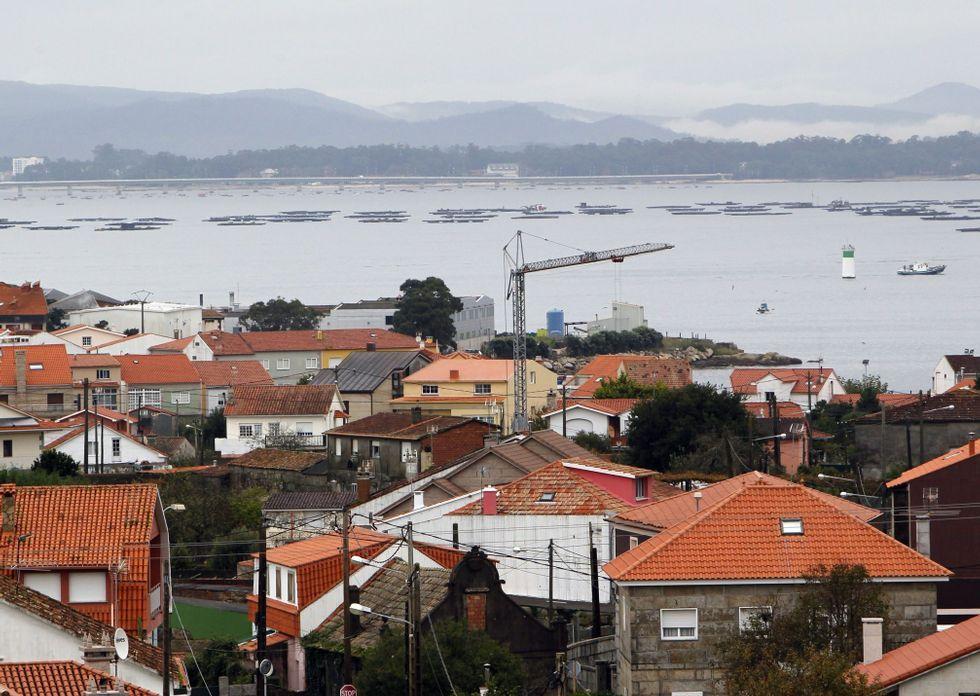 En O Grove Costas ha rechazado la desafectación de una docena de núcleos rurales.
