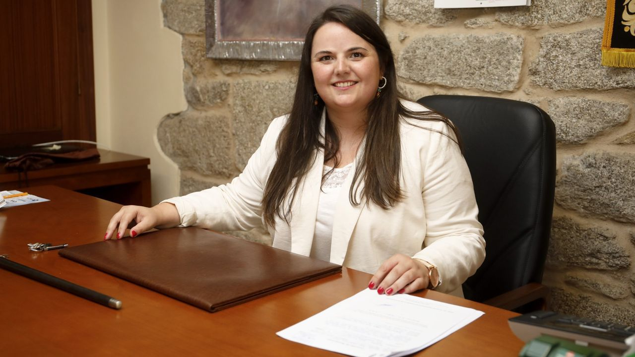 Rocío Seijas, alcaldesa de Monterroso