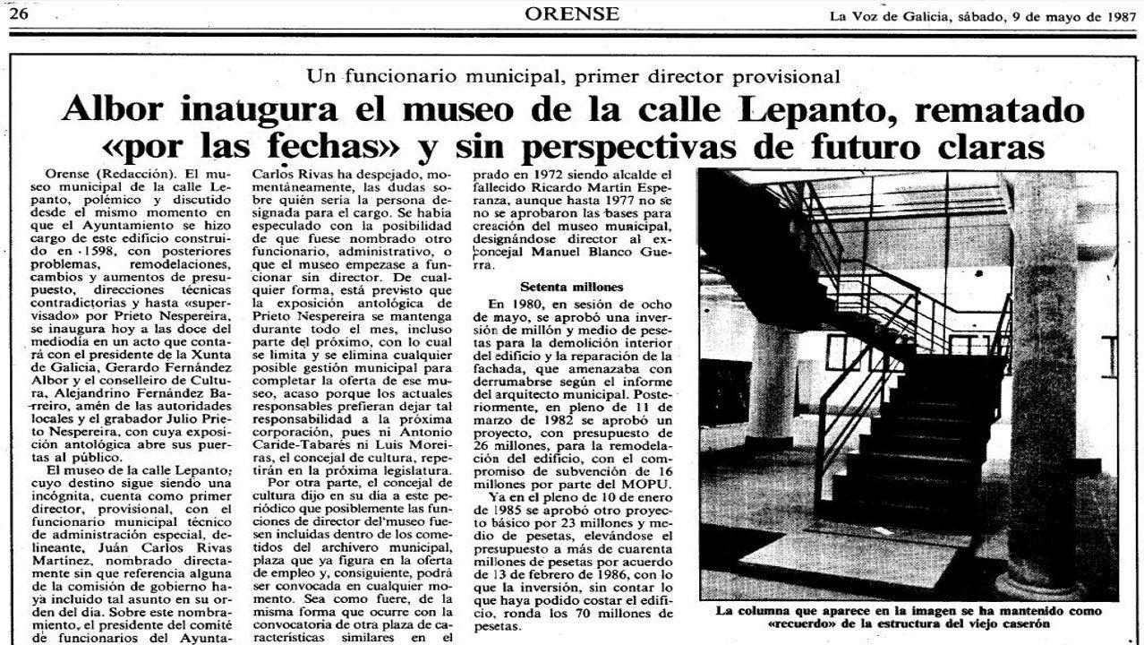 La visita de Feijoo a Cortizo, en imágenes.El alcalde José Novo Freire, votando en unas elecciones autonómicas