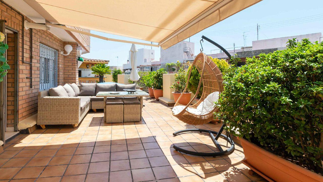 Los áticos suponen solo el 4,7 de la oferta inmobiliaria de Oviedo