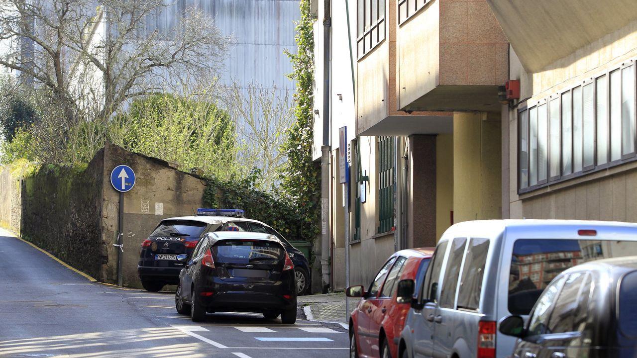 Unidad de ciberdelitos de la Guardia Civil en Pontevedra