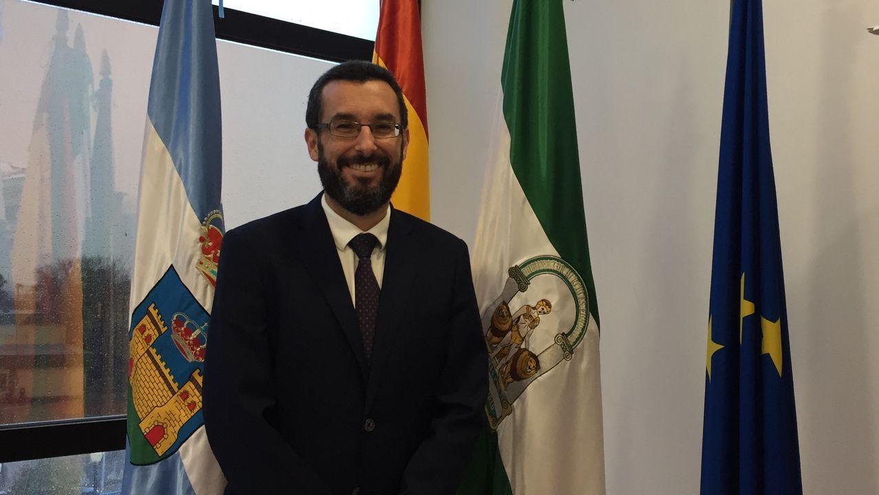 El alcalde de La Línea de la Concepción, Juan José Franco Rodríguez