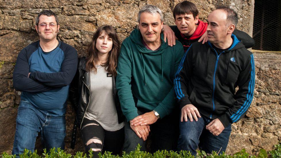 Un aspecto de la feria ganadera celebrada el pasado año en Seoane do Courel, la primera que se organizó en el municipio en varias décadas