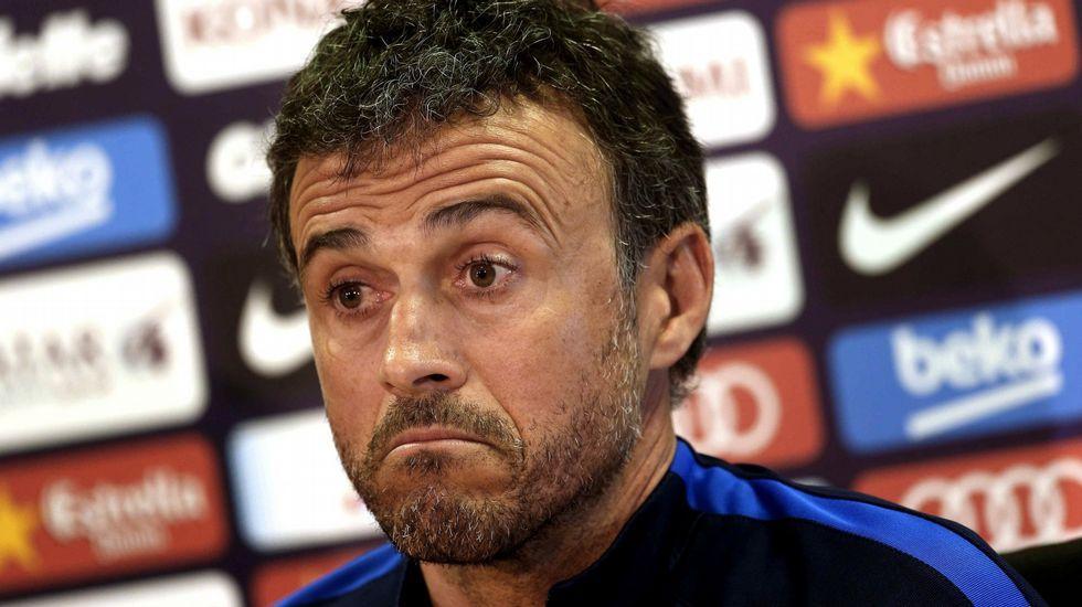 Luis Enrique: «Si dejo el Barça no es para irme a otro equipo. ¿Dónde voy a estar mejor que aquí?»