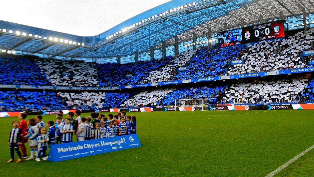 Las imágenes de la Junta de accionistas del Deportivo