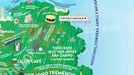 El mapa definitivo de Galicia según Buzzfeed.El mapa definitivo de Galicia según Buzzfeed