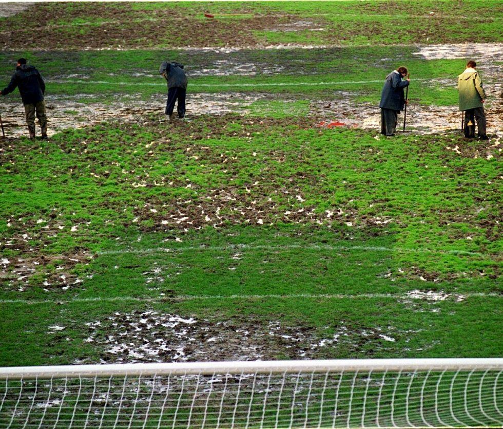 Pau Gasol: «Cada campeonato es especial para mí».Estado del campo en diciembre del 2000.