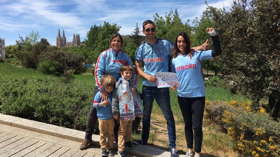 La familia Peña Miniño, de la Peña Burgalegos de Burgos