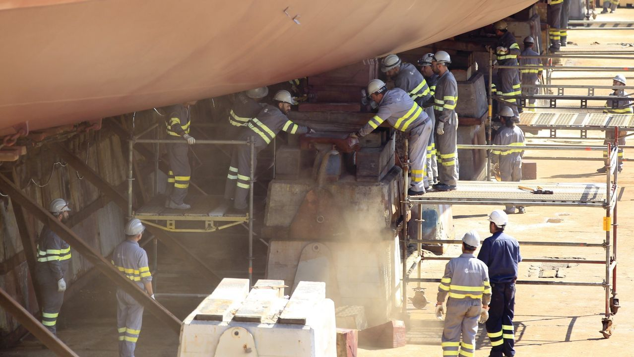 El interior de una de las plantas de ArcelorMittal