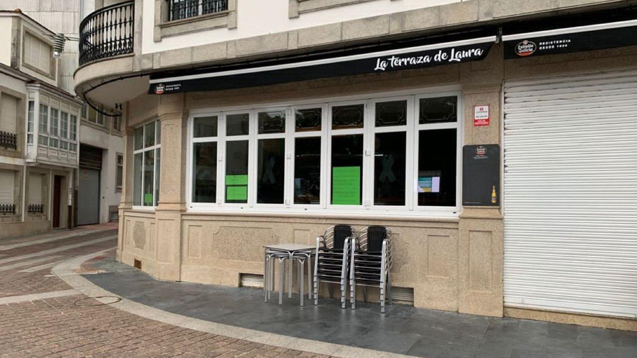 Los negocios hosteleros cerraron el 11 de marzo en protesta por la situación de las terrazas