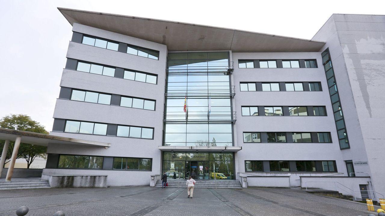 Foto de archivo de los juzgados lucenses