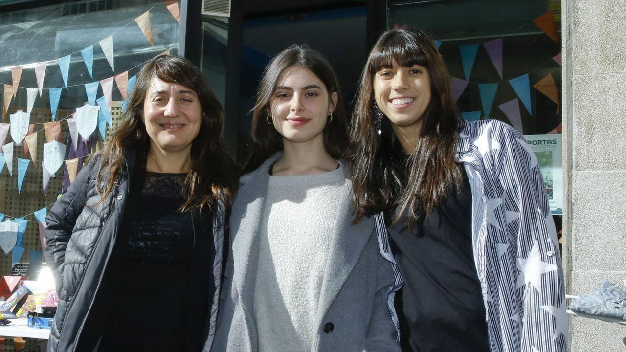 Carla Sofia Amado es la responsable del  Instituto Camões en Galicia y profesora de la USC