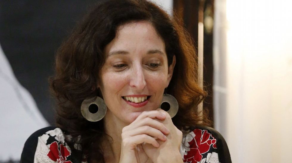 Tatiana Goransky.La escritora argentina Tatiana Goransky