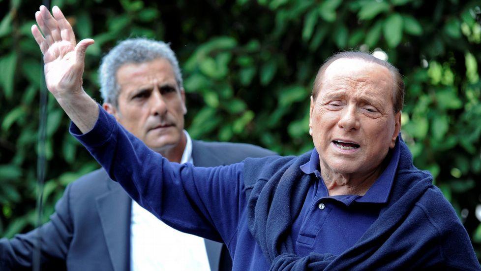 El referéndum de Italia decide el futuro de Renzi.Silvio Berlusconi