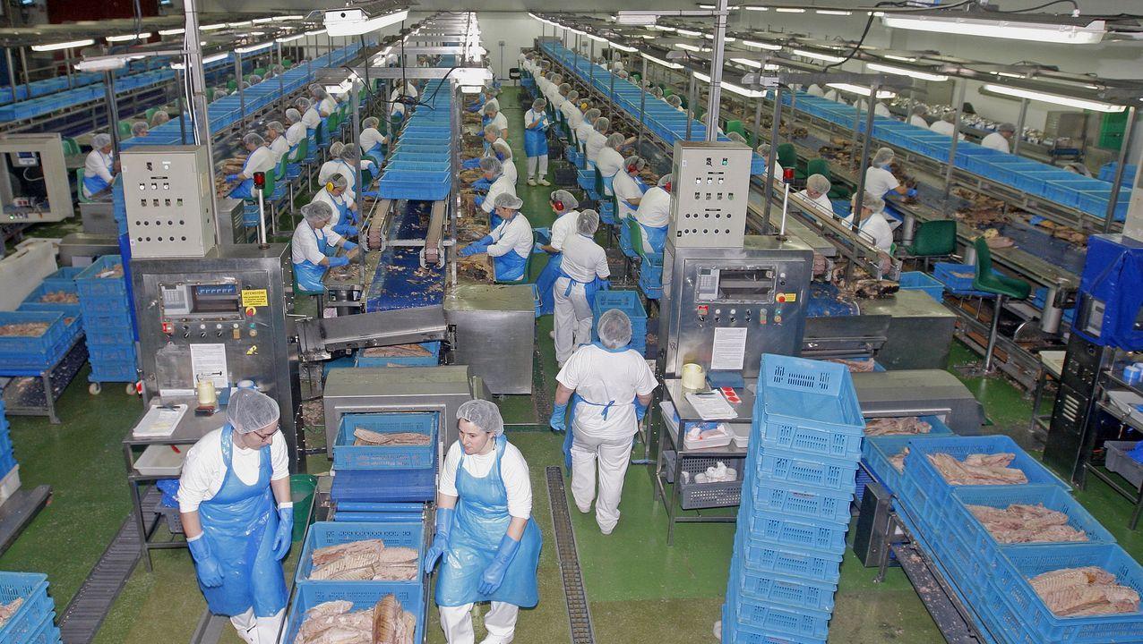 La factoría de Jealsa en O Bodión, Boiro, en una imagen de archivo