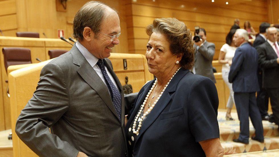 Los caídos con escaño en el Senado.José Ignacio Ceniceros. La Rioja. El presidente del Gobierno de La Rioja se impuso 109 votos a Gamarra, alcaldesa de Logroño.