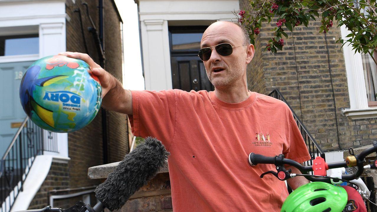 Turismo, desinfección y distancia por el mundo.Dominic Cummings, principal asesor de Boris Johnson, recorrió 400 kilómetros para llevar a su hijo de 3 años a casa de los abuelos