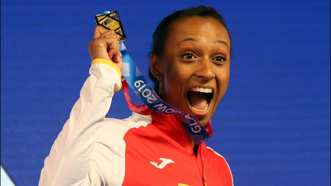 Ana Peleteiro. Campeona de Europa de atletismo, en triple salto, apunta alto de cara a los Juegos Olímpicos