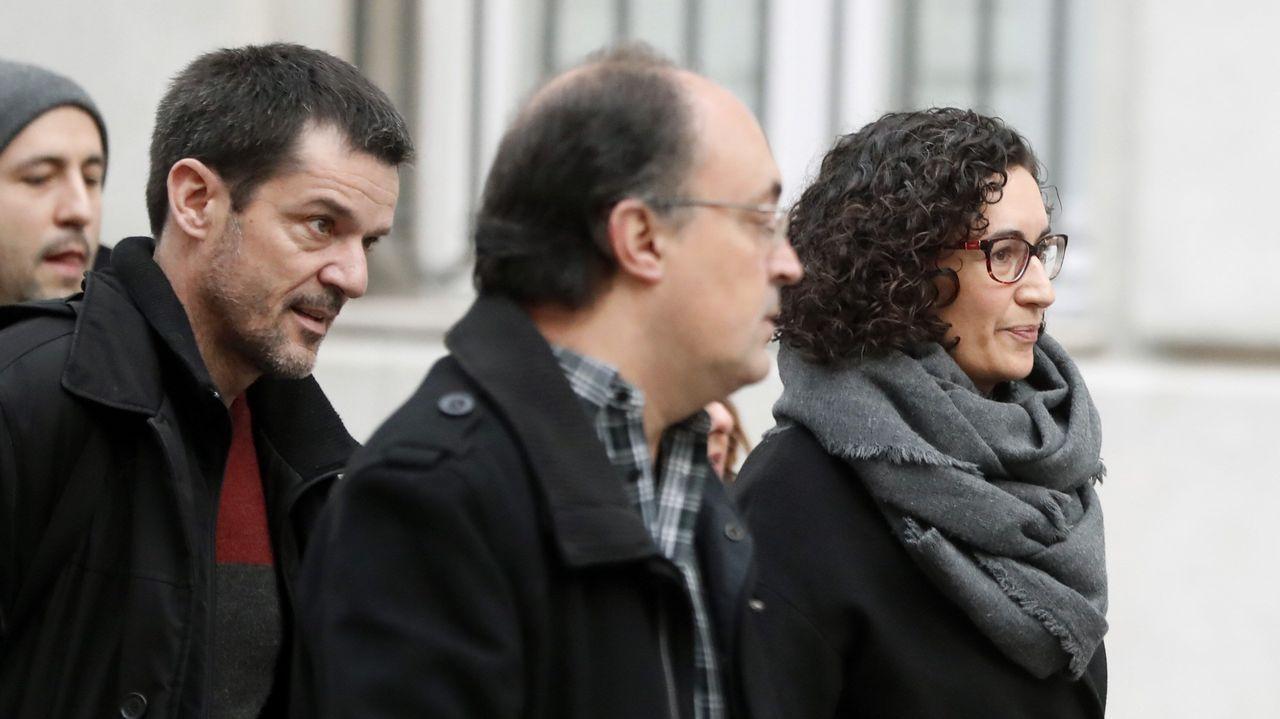 Marta Rovira: «Hemos venido a defender los derechos que tenemos como diputados del Parlament»