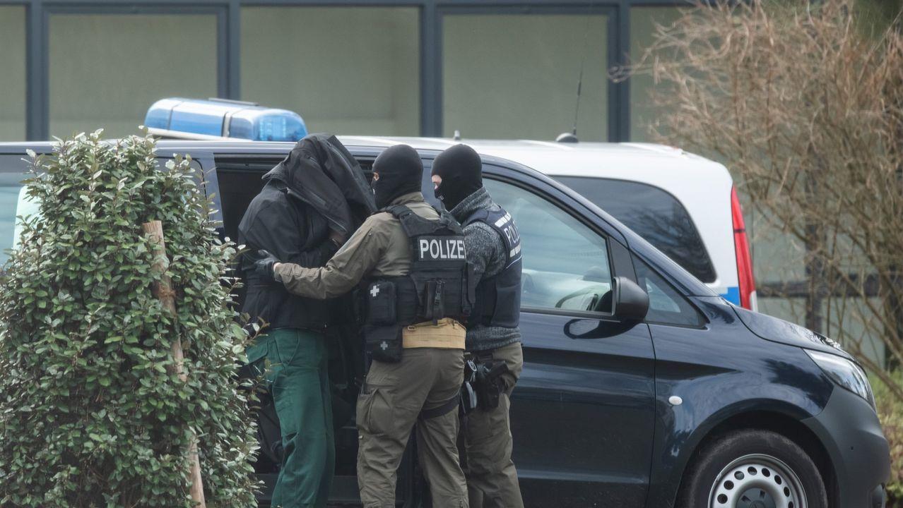 Operación del pasado febrero en Baden contra una celula terrorista neonazi