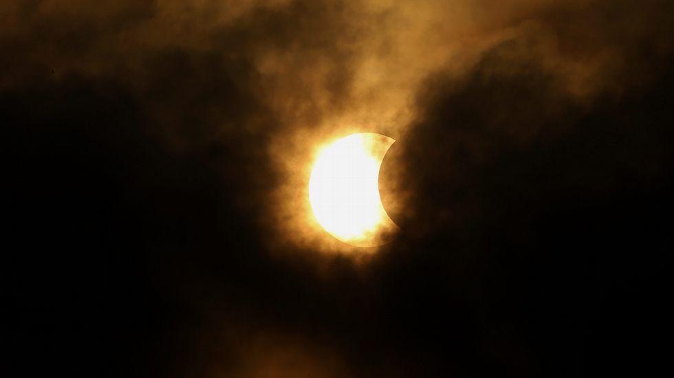 El eclipse total de sol, visto desde Tailandia