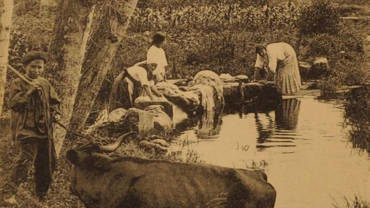 Foto antigua río Monelos