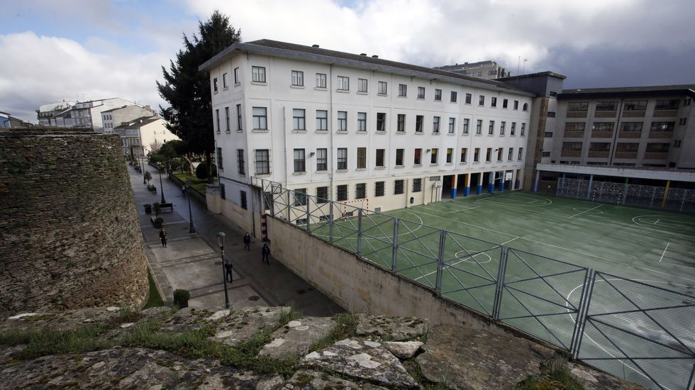 Colegio Inmaculada (Maristas), en Lugo
