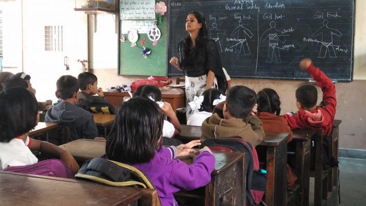 Uno de los proyectos educativos premiados por Wise el pasado año fue el programa de Arpan en Mumbai, que tiene que ver con la seguridad sexual de los menores