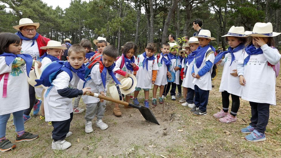 Feijoo en la celebración del 25 aniversario del Parque Natural de Corrubedo