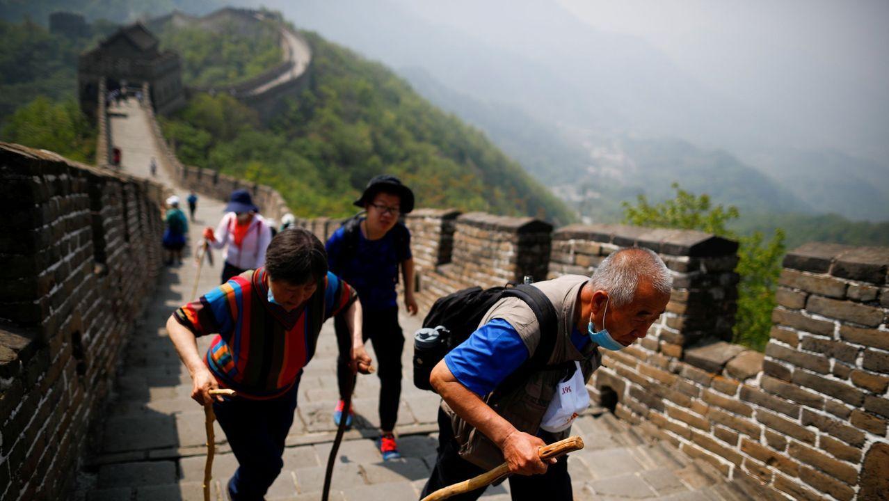 La Gran Muralla china permaneció cerrada dos meses, pero desde mayo ya es visitable de nuevo