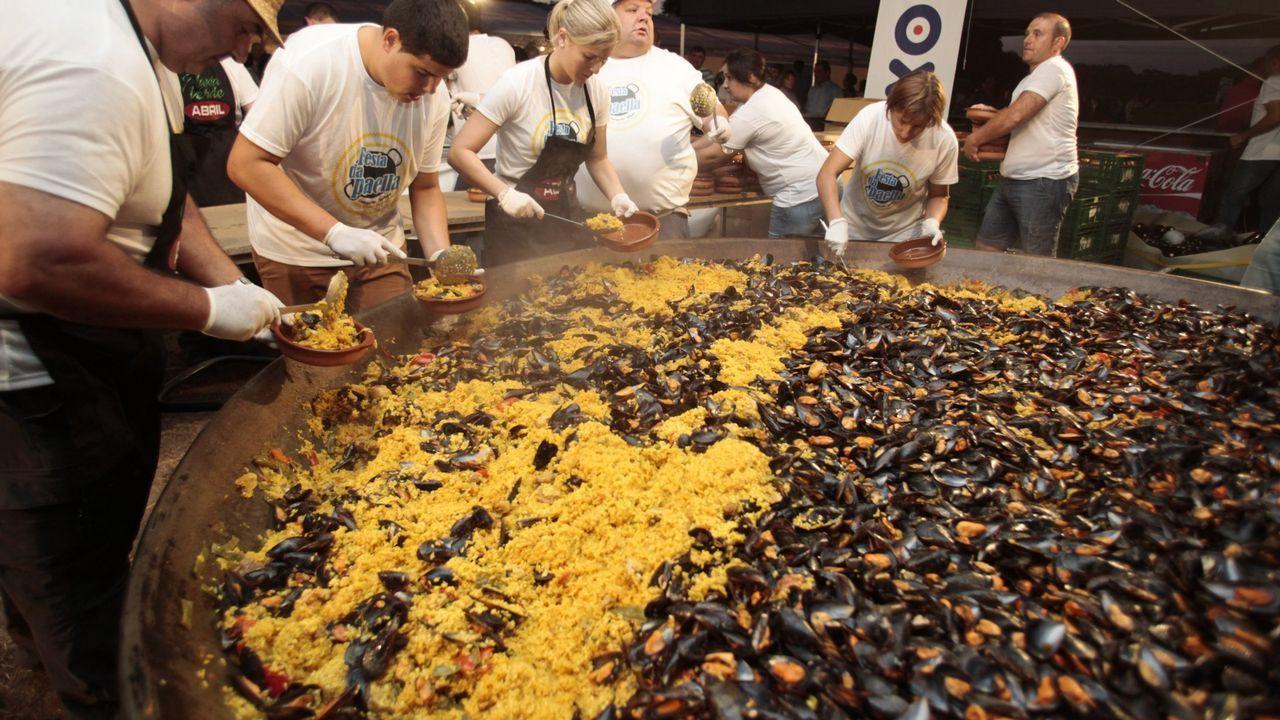 Festa da Paella de Cortegada