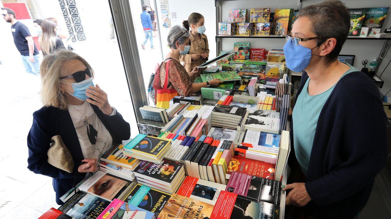 Feria del libro de Vigo el pasado mes de junio