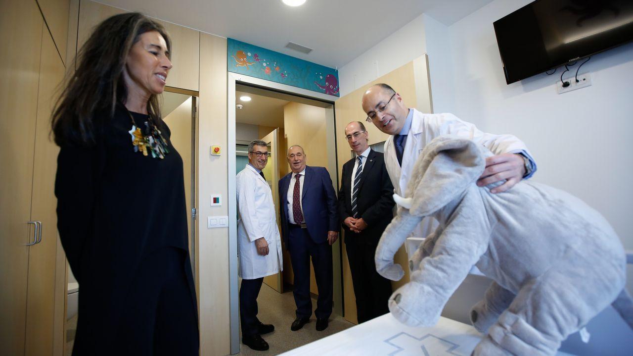 Inauguración de la unidad de Oncopediatría en el Materno infantil.