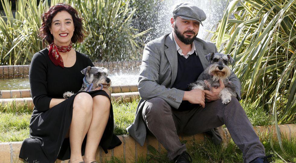 La ourensana Carmen Penim junto al italiano Maurizio Polsinelli forman el grupo musical 2naFronteira