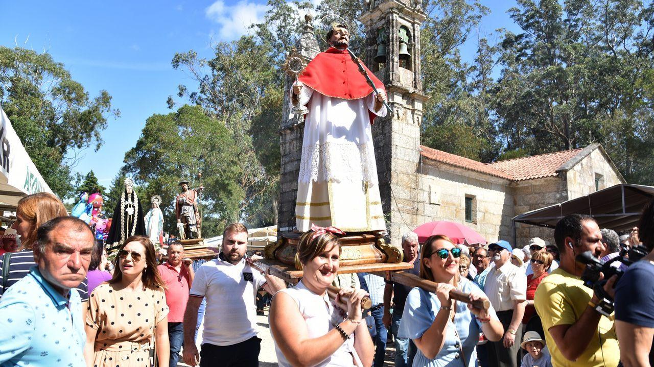 Un instante de la celebración del San Ramón en el 2019