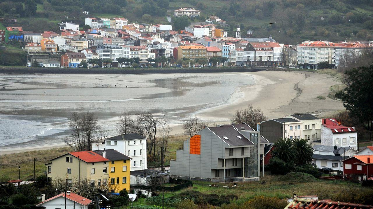 Vista de Cedeira, una de las poblaciones con mayor demanda tanto de venta como de alquiler