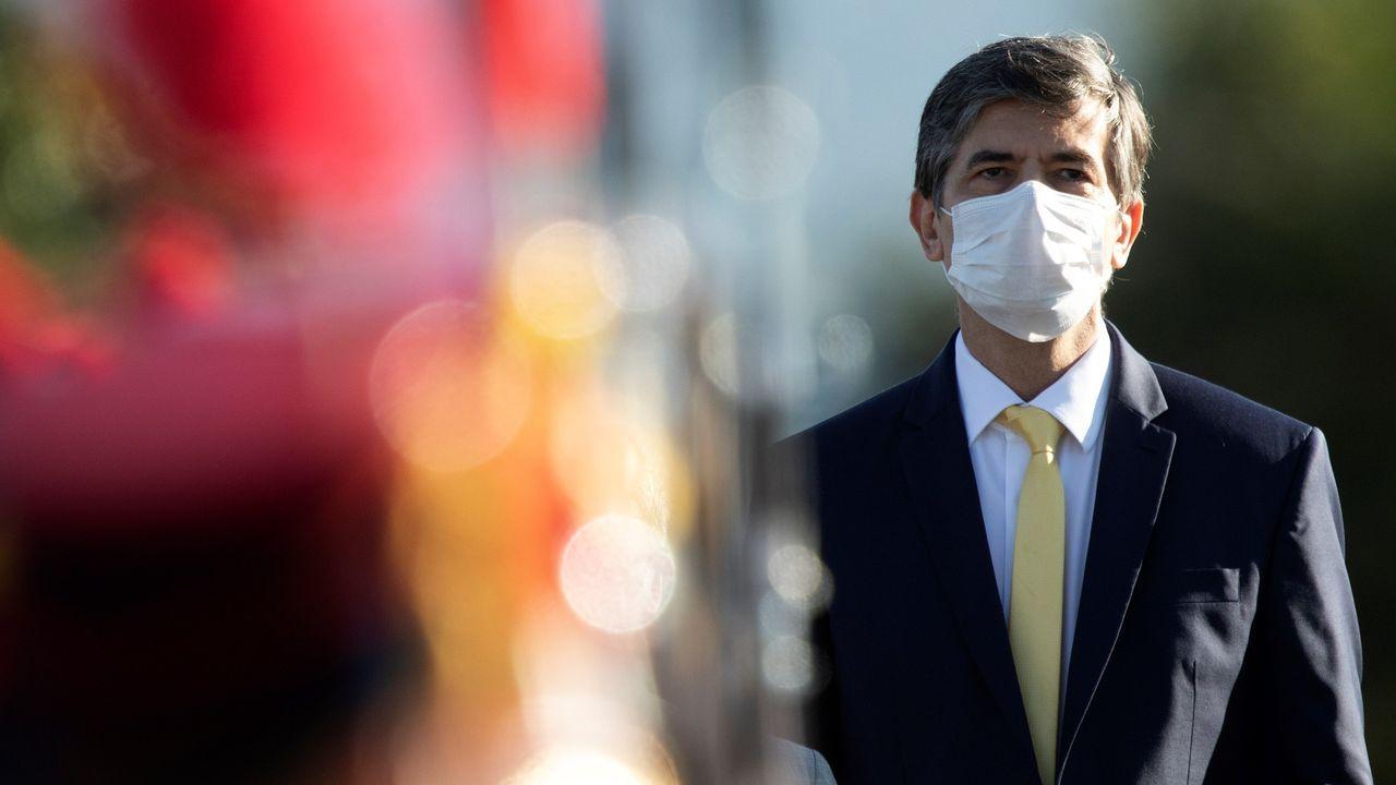 El hasta hoy ministro de Salud de Brasil, Nelson Teich
