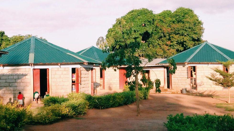 Habitaciones de los niños en Tala, orfanato de Kubuka.Habitaciones de los niños en Tala, orfanato de Kubuka