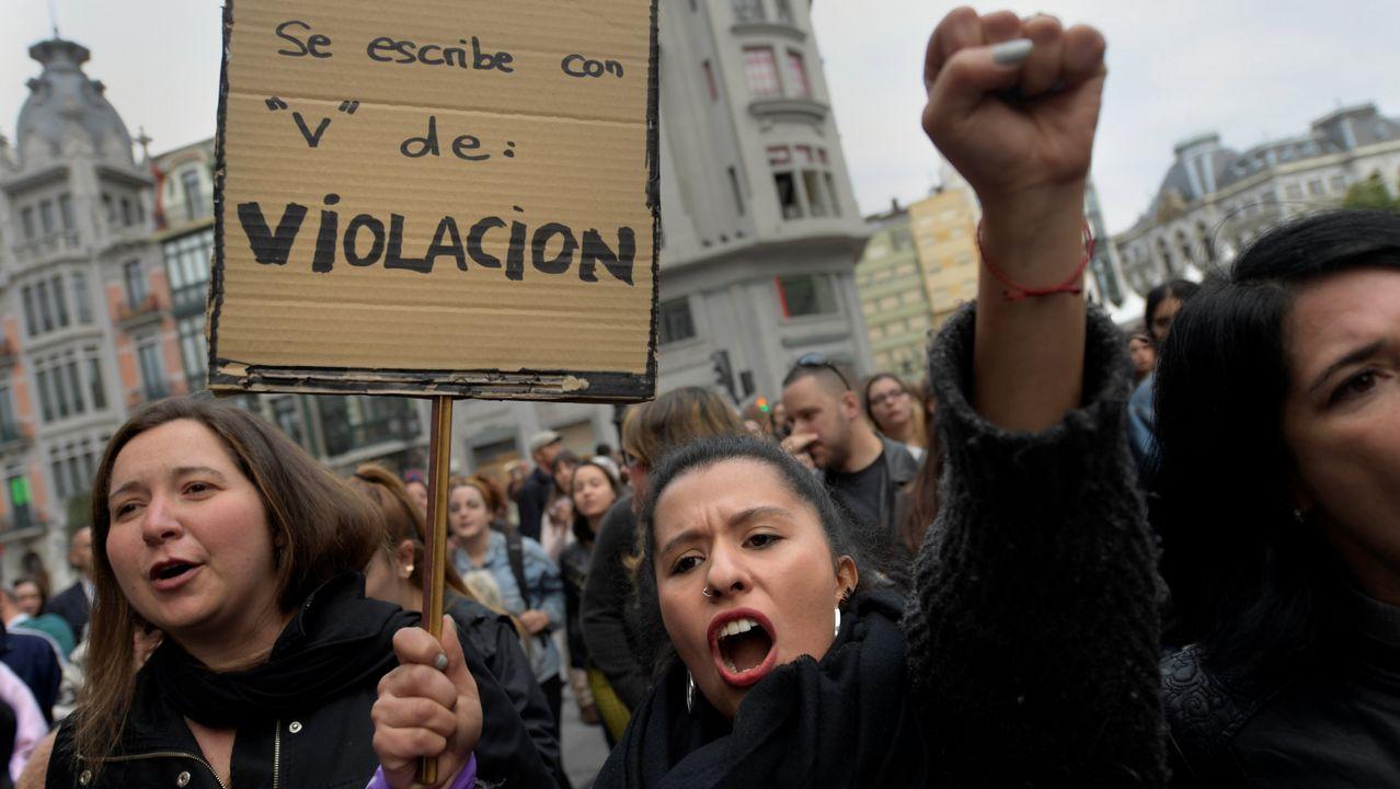 Catalá, contra las cuerdas por sus palabras sobre el juez de La Manada.Protestas en Asturias por la sentencia de la Manada