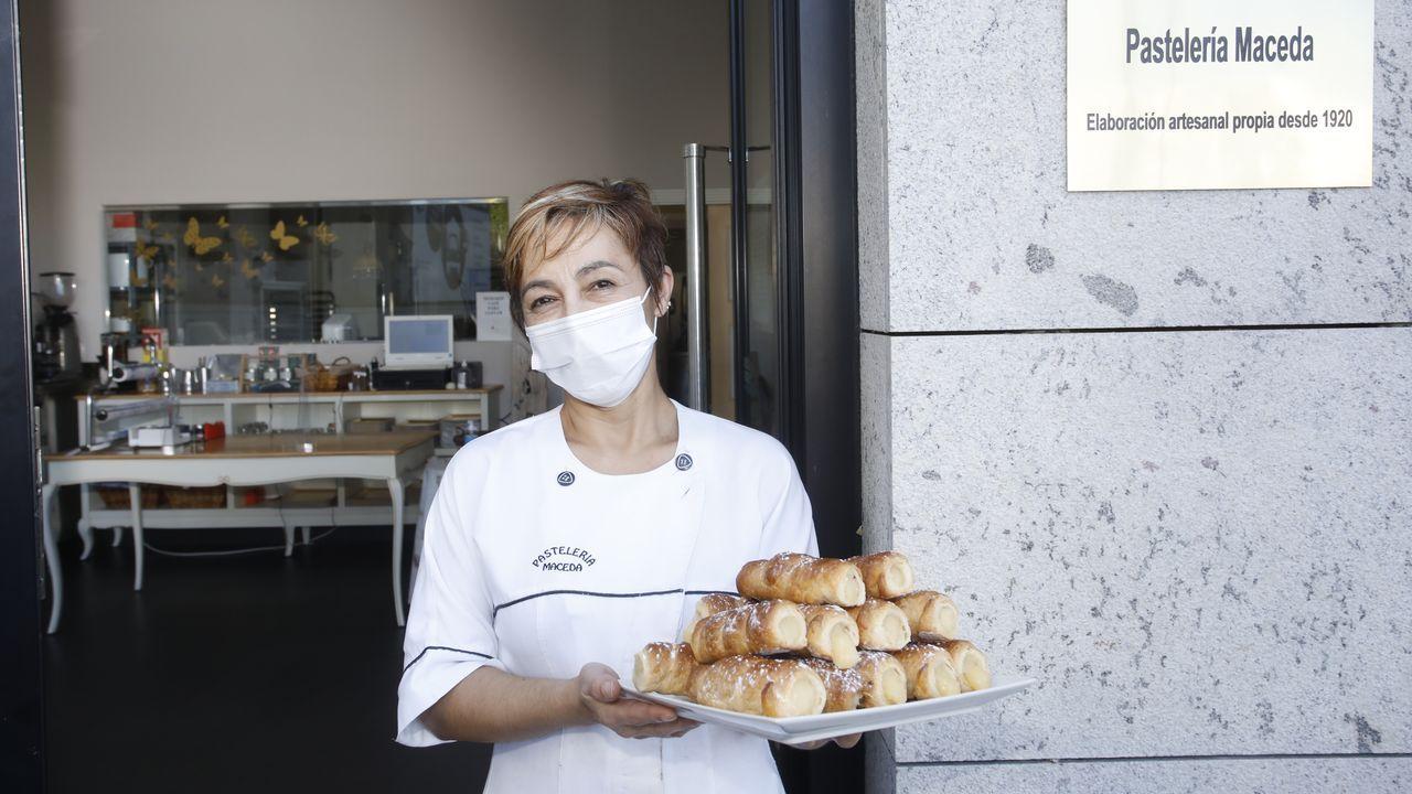 Inés Nogueira, de Pastelería Maceda