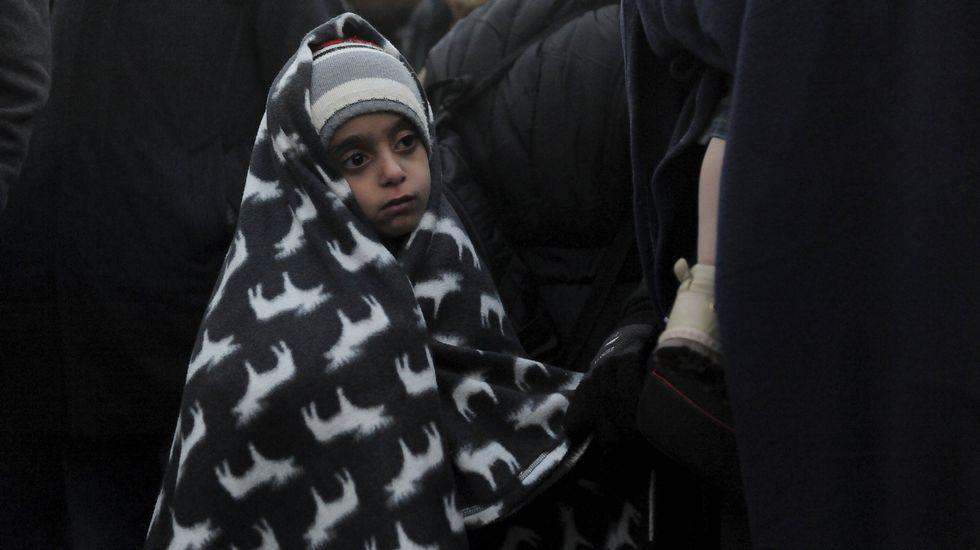 La llegada del frío, un nuevo desafío para los refugiados